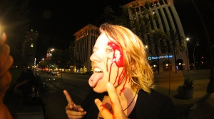 candy bloody face photo